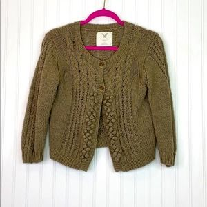 AMERICAN EAGLE OUTFITTERS: Bobble Knit Cardi